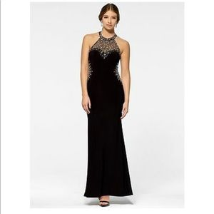 Cache Dresses - Beaded Prom Gown